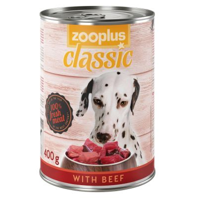 zooplus Classic oksekød