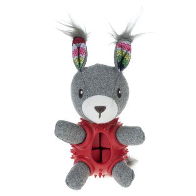 Hundesnack Legetøj kanin