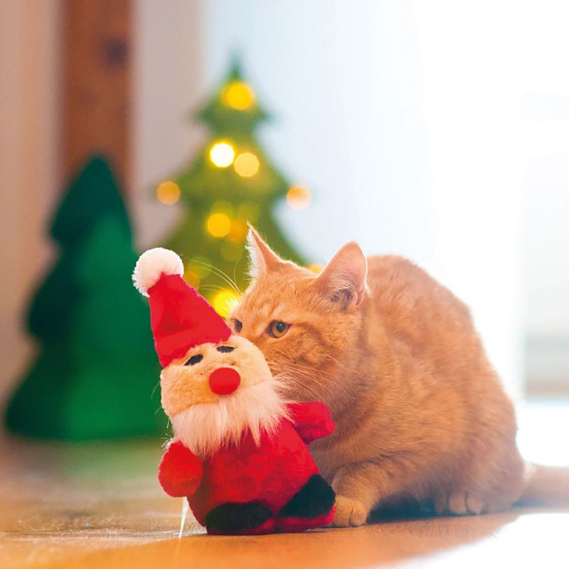 aumualler baldrian julemand kattelegetøj