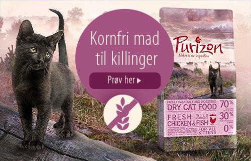 Purizon Kornfri mad til killinger Kat